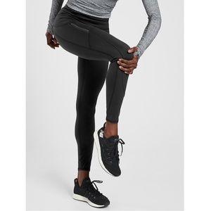 NWT Athleta Rainier Workout Tight Black #487745
